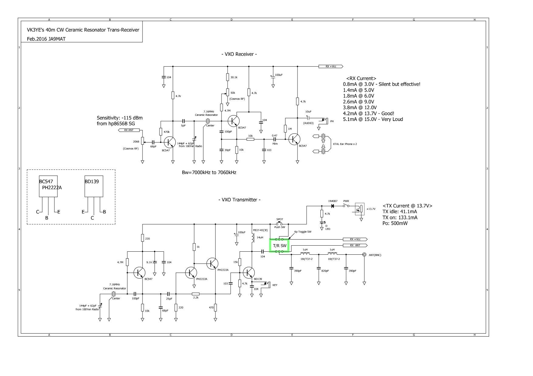 Ne602 Local Oscillator Circuits Circuit Diagram Tradeoficcom Data Voltage Controlled Vxo