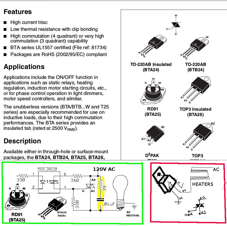 Goto Pic16f628 Heat Control Page Triac Applications Another Optiotriac